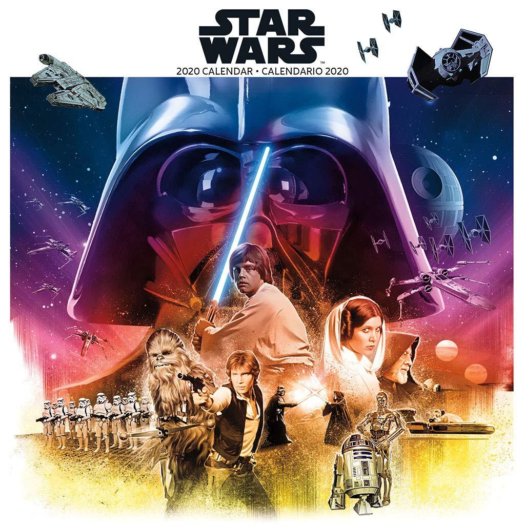 Star Wars 2020 Calendar: Amazon.es: Libros