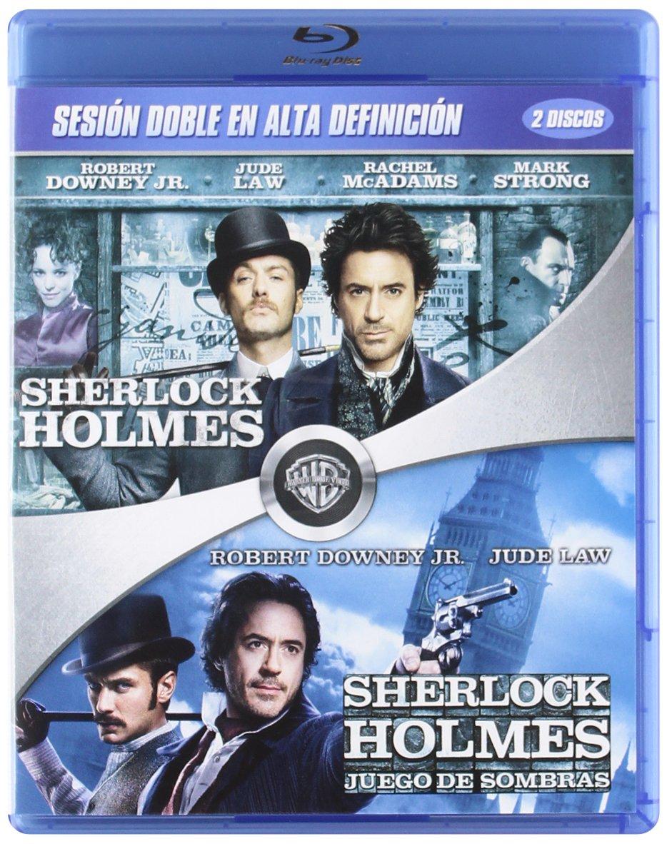 Pack Sherlock Holmes + Sherlock Holmes 2 Blu-Ray Blu-ray: Amazon.es: Robert Downey Jr., Jude Law, Rachel McAdams, Noomi Rapace, Jared Harris, Stephen Fry, Guy Ritchie, Robert Downey Jr., Jude Law, Susan Downey: