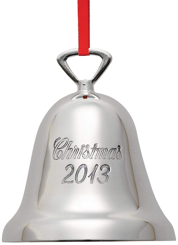 amazon com reed u0026 barton christmas 2013 bell christmas ornament