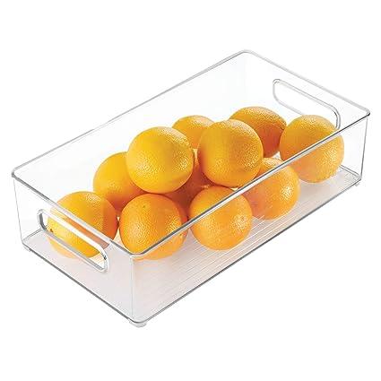 InterDesign 706400 20,30 x 10,20 cm translúcido para frigorífico bandeja acolchada para