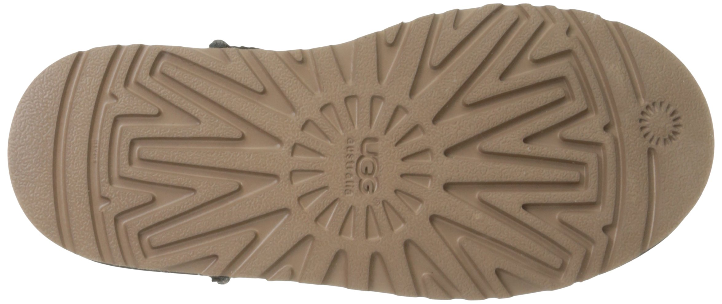 UGG Kids' K Classic Short Carranza Pull-on Boot, Black, 2 M US Little Kid by UGG (Image #3)