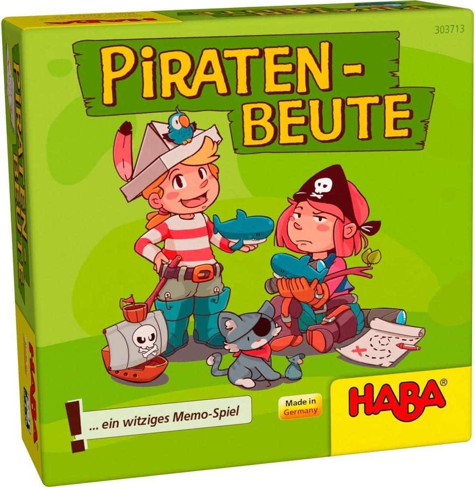 Haba-El El Botín de los Piratas - ESP, Multicolor (Habermass 303804) , color/modelo surtido: Amazon.es: Juguetes y juegos