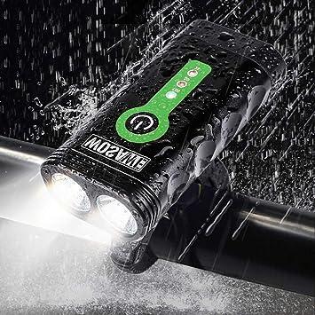 Wulidasheng - Juego de Luces LED para Bicicleta de Carretera ...