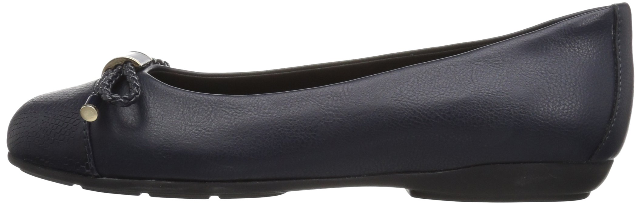 4d3cea71cc Geox Women's Annytah 6 Ballet Round Toe Flats with Bow-Arch Support ...