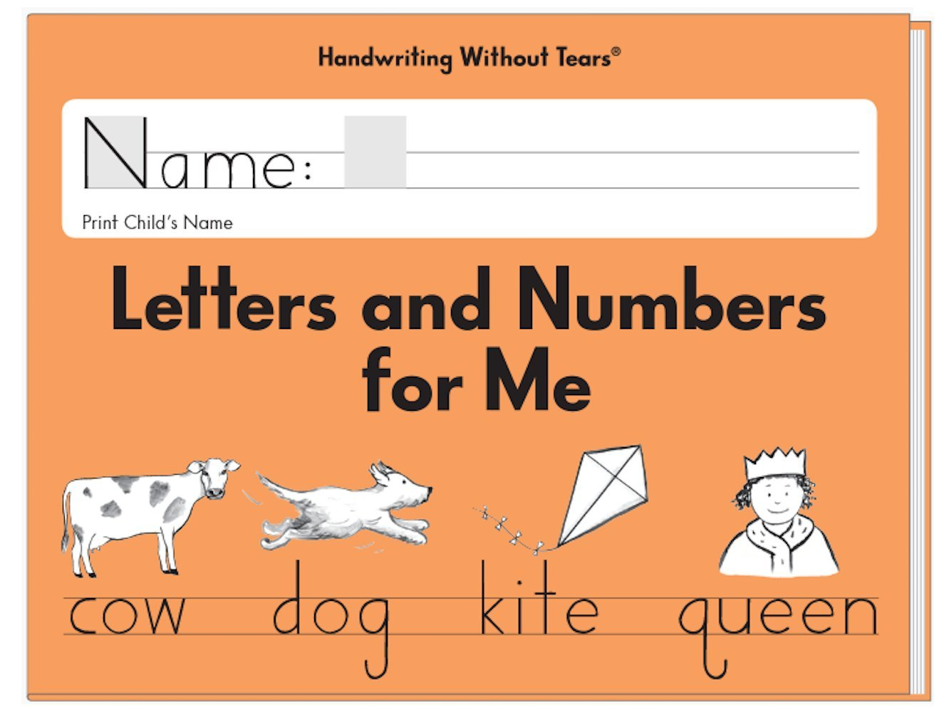 Worksheets Handwriting Without Tears Worksheet letters and numbers for me jan olsen 9781891627576 amazon com books