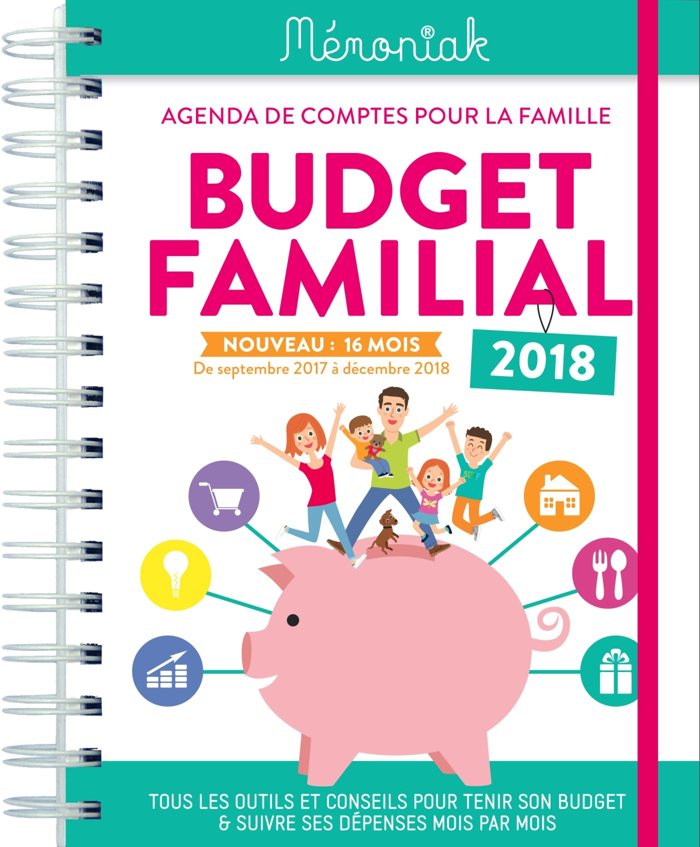 BUDGET FAMILIAL 2018 (French) Hardcover-spiral – Jul 14 2017