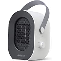 dodocool Calefactor Eléctrico, Mini Calefactor Baño, 3 Segundos Calentamiento Rápido, 1/2/3/6 Horas Tiempo…