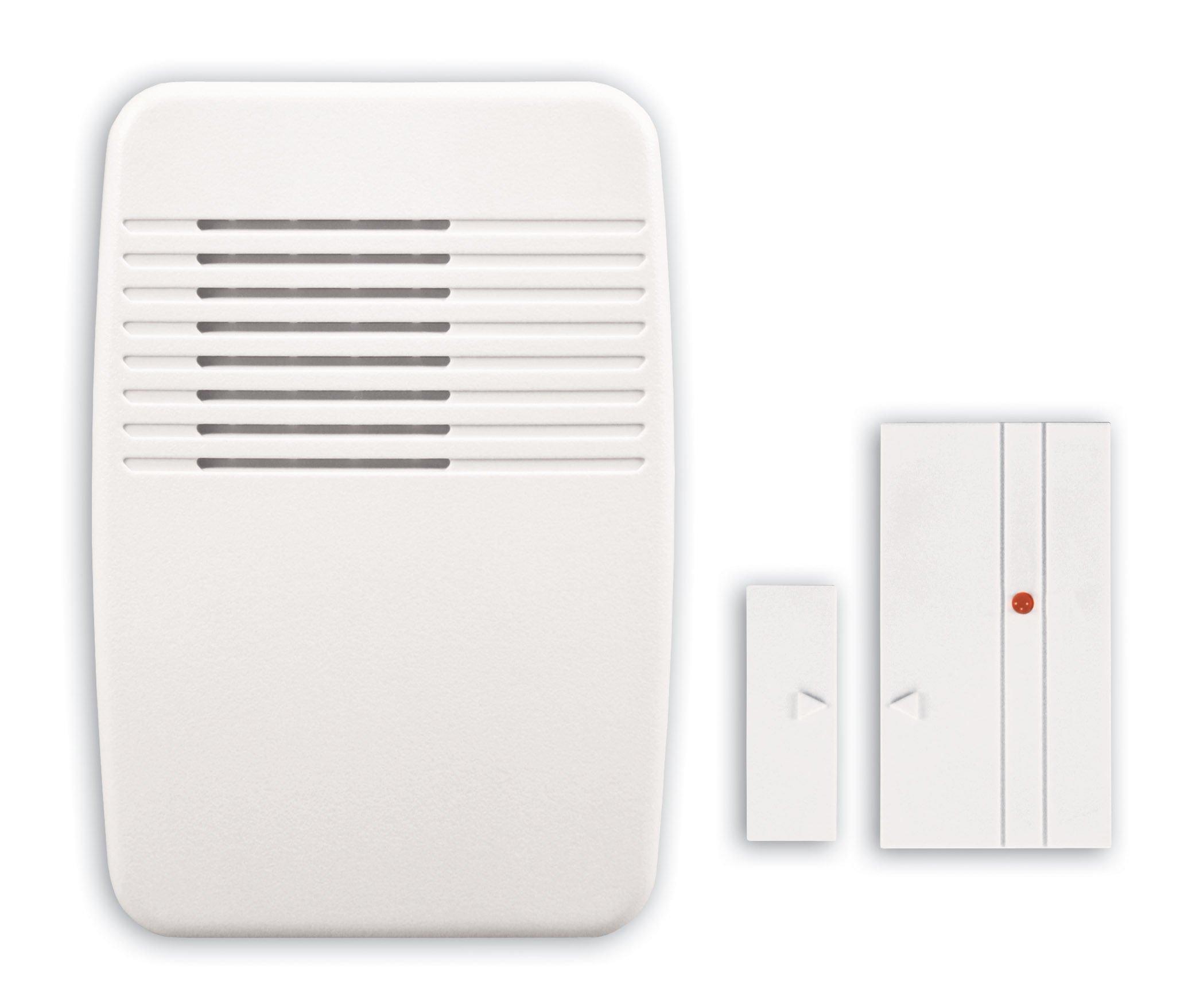 Heath Zenith Sl-7368-02 Wireless Entry Alert Chime White Multi-Function Kit 2