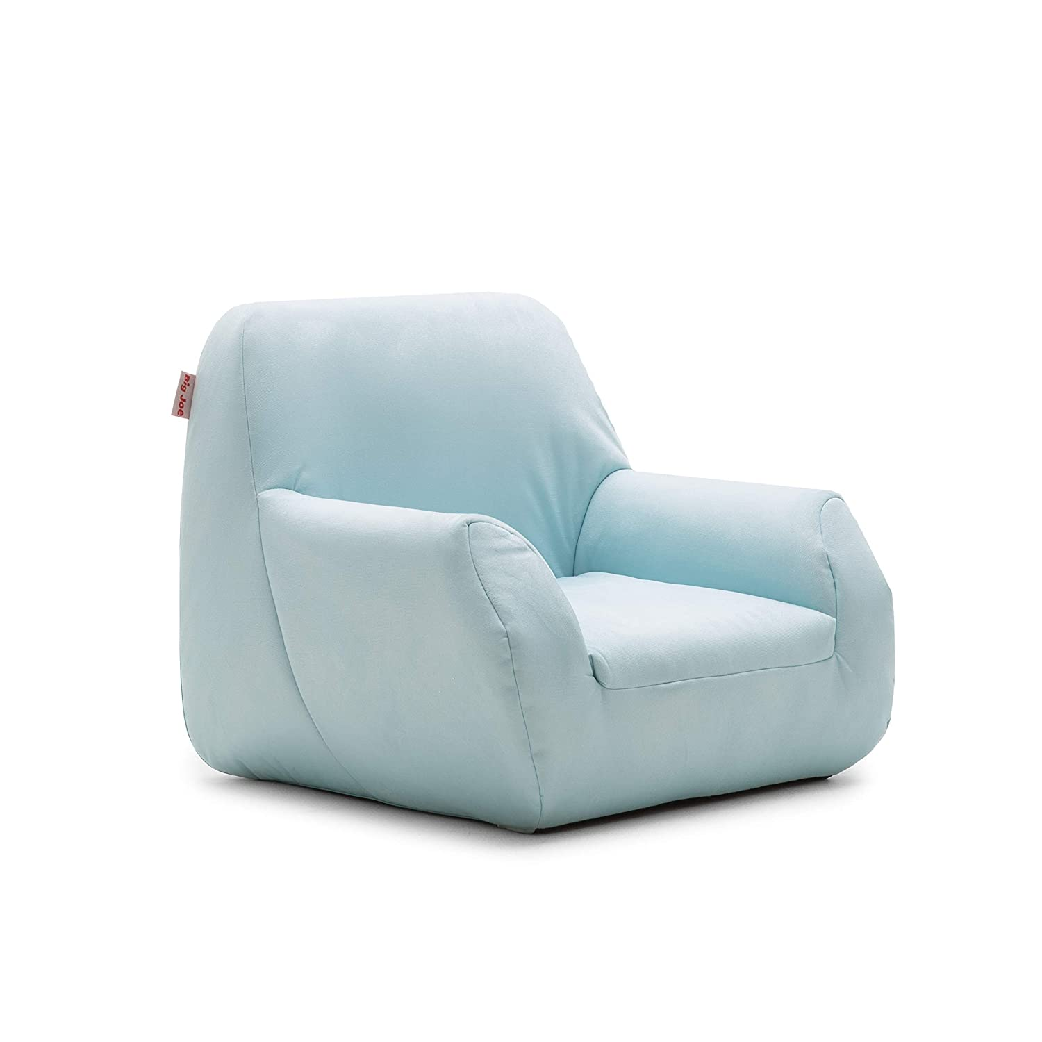 Big Joe 1596661 Mid Mod, Lenox Icecap Blue Kid's Chair,