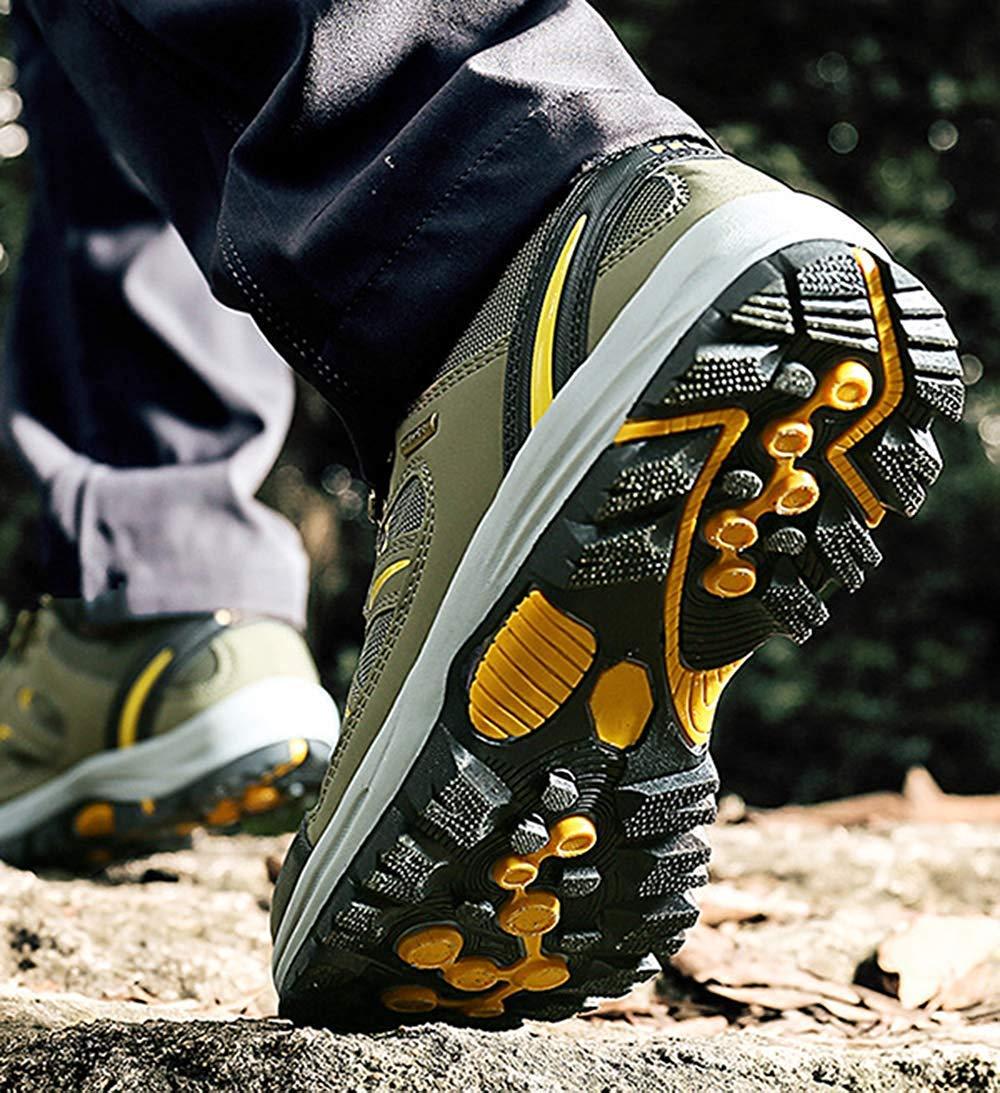 Fuxitoggo Männer Wanderschuhe Stiefel Leder Wanderschuhe Turnschuhe Für Outdoor Outdoor Outdoor Trekking Training Beiläufige Arbeit (Farbe   26, Größe   43EU) c0a610