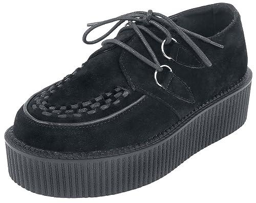 Industrial Punk Creepers Black Zapatillas Negro 7Il1hk