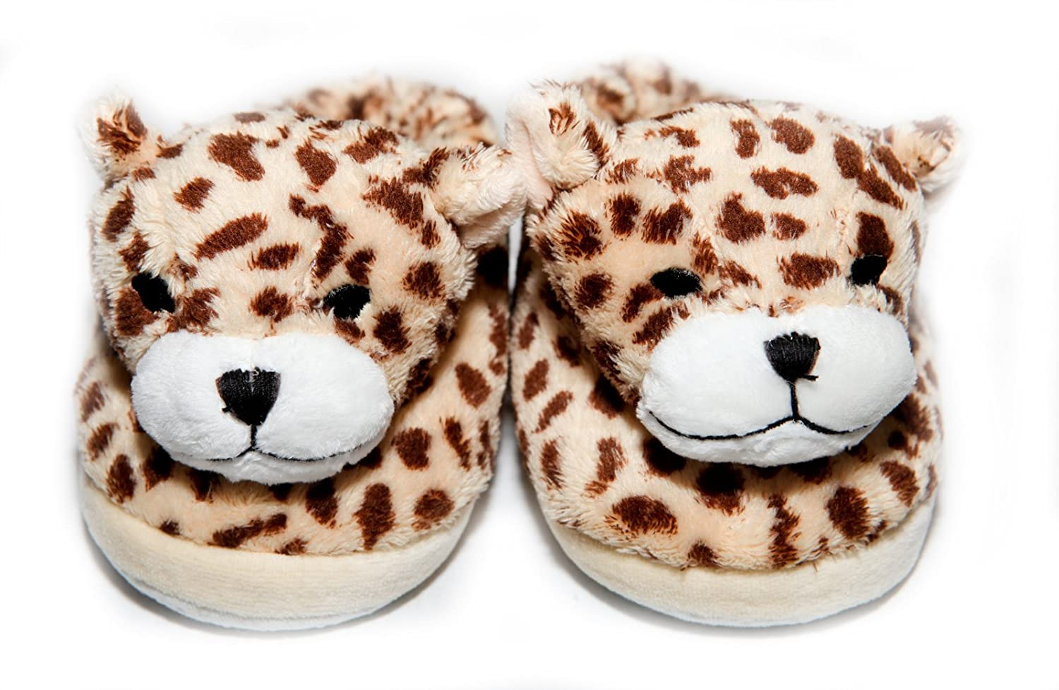 dc12e9e05 Amazon.com: The Babymio Collection Slippers, Chichi The Cheetah, 24 Months:  Baby