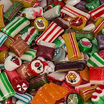 old fashion christmas hard candy mix 5lb bag - Christmas Hard Candy