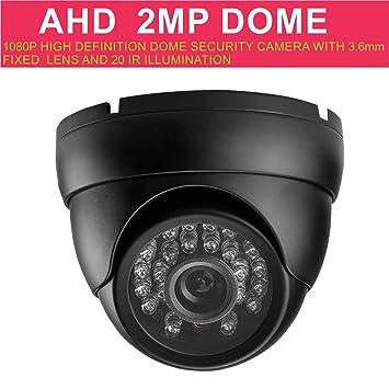 Weesee 1080p 2.0 MP AHD Caméra de surveillance pour la maison, pour le  chien, ef59eaba8bcf