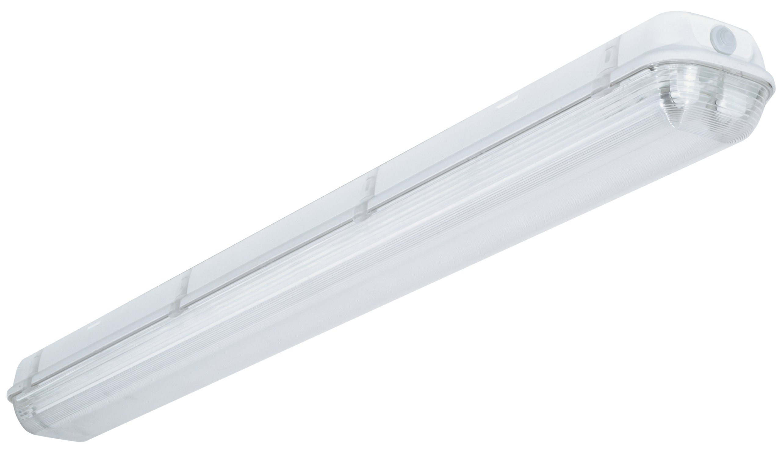Lithonia Lighting XWL 2 32 120 RE Hanging Outdoor White Industrial Fluorescent Fixture