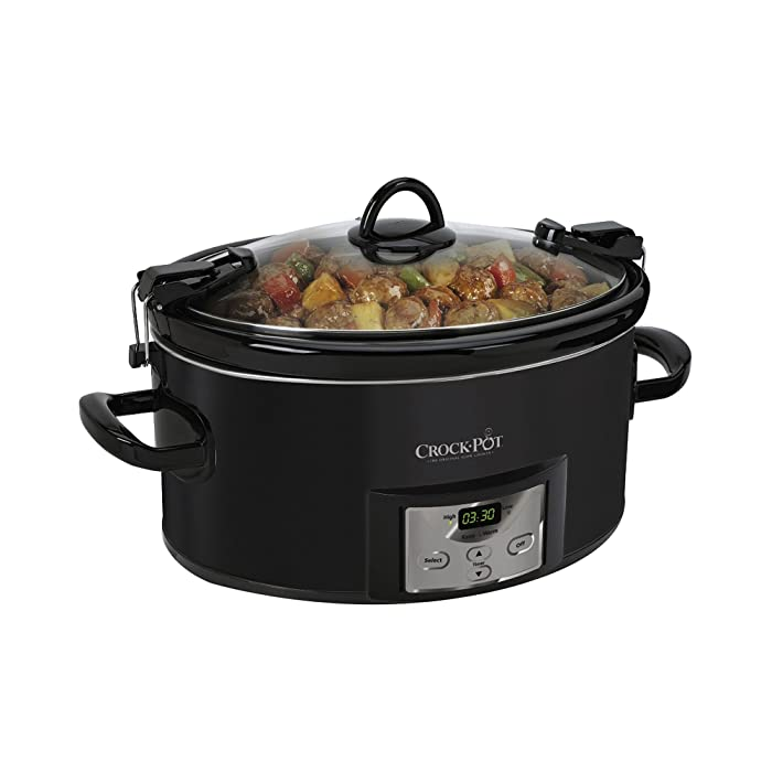 Crock-Pot 7-Qt. Cook n' Carry Programmable Countdown Slow Cooker