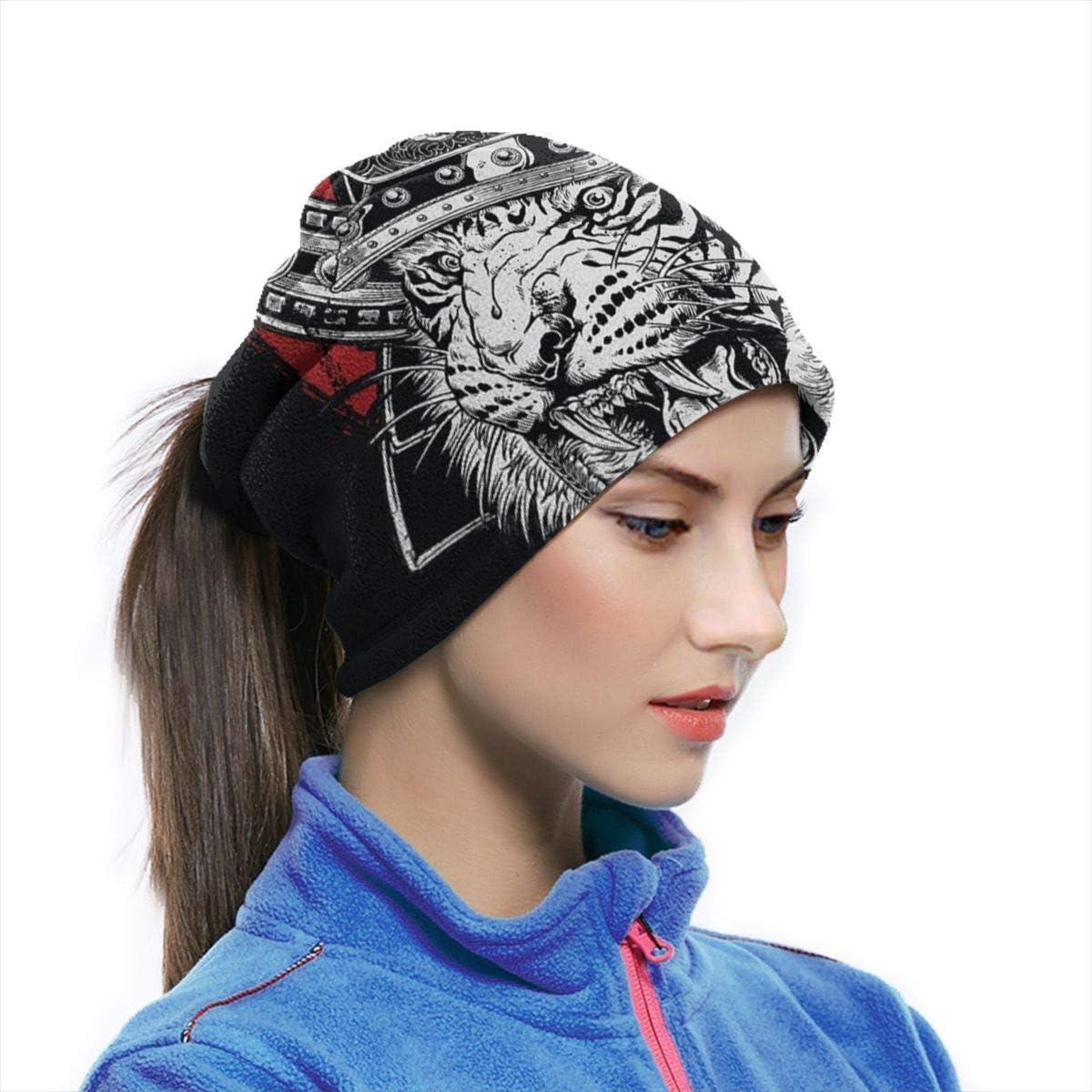 hon-ey WE Handgezeichnete hochdetaillierte japanische Tiger Samurai Stirnband Gesichtsmaske Bandana Kopf wickeln Schal Nackenw/ärmer Kopfbedeckung Sturmhaube f/ür den Sport