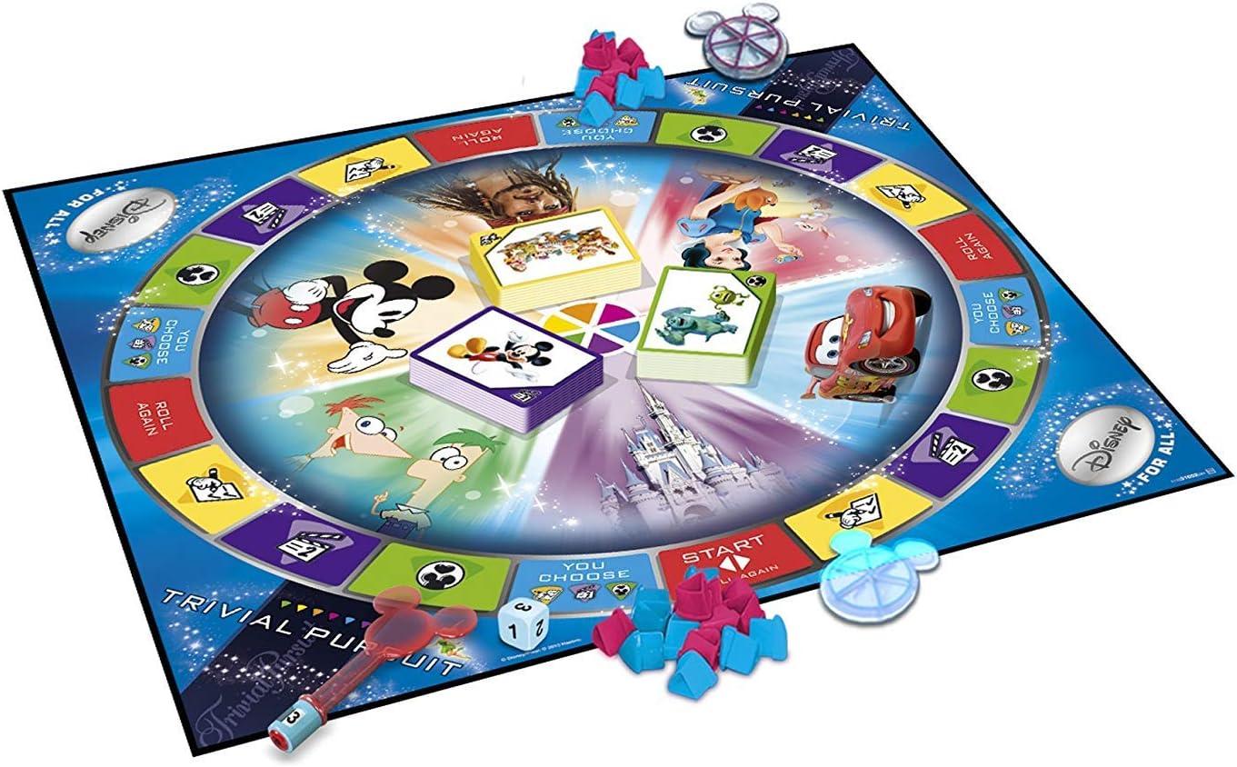 Trivial Pursuit Ultimate Disney Edition by Trivial Pursuit: Amazon ...