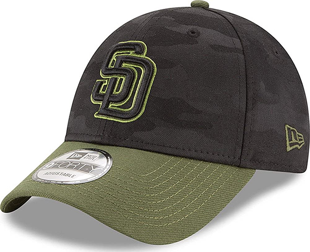 New Era San Diego Padres Memorial Day 940 9Forty Cap Basecap OSFM Limited  Special Edition at Amazon Men s Clothing store  c1773ac047e