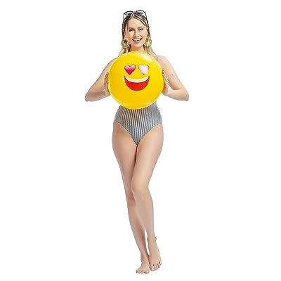 8.5/'/' Inflatable Beach Balls Children Kids Summer Beach Pool Party Toys