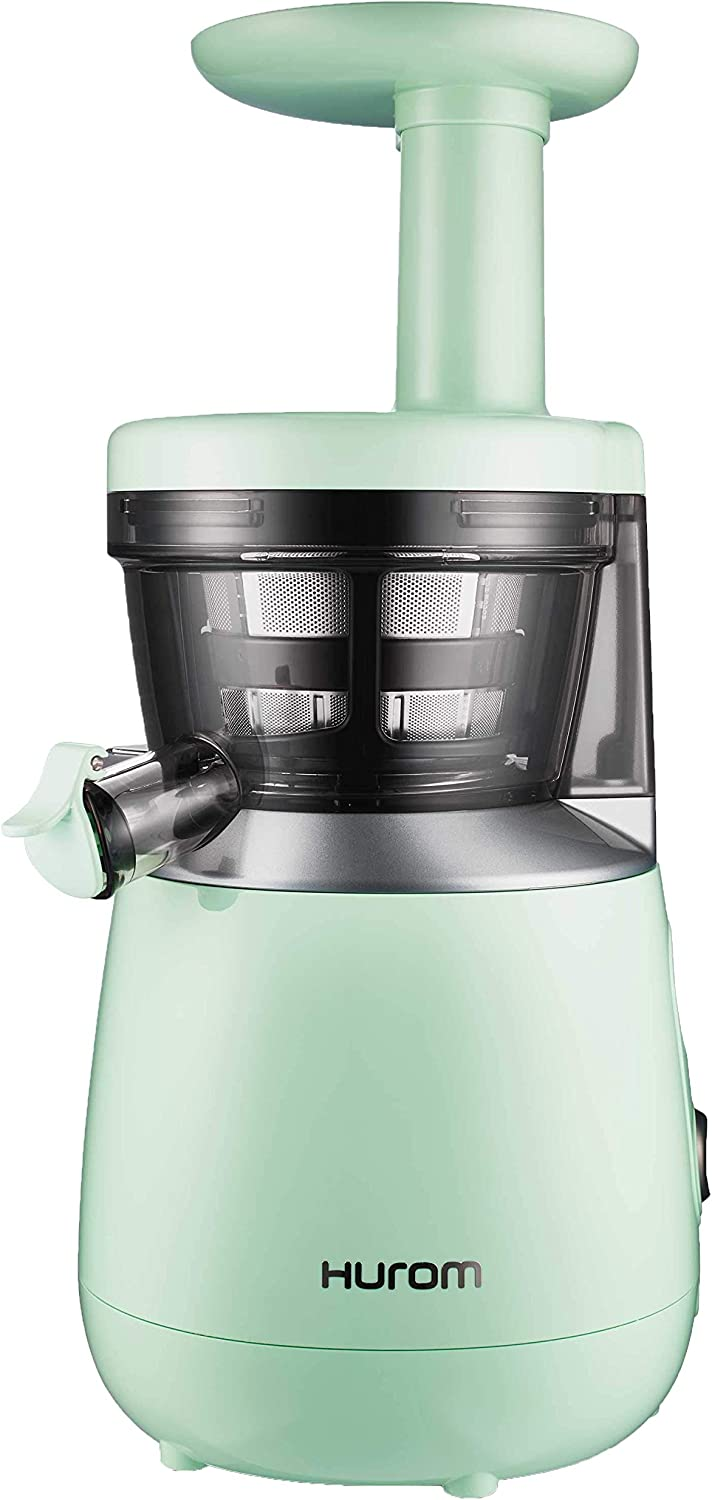 HUROM HP Slow Juicer, Mint (Renewed)