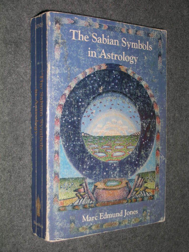 Amazon Sabian Symbols In Astrology Marc Edmund Jones