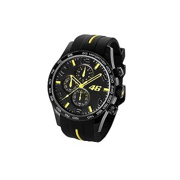 Valentino Rossi VR46 Cronograph Negro Reloj Oficial 2018: Amazon.es: Deportes y aire libre