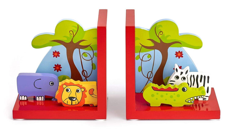 Sujetalibros infantiles 3D Madera Mousehouse Gifts Tem/ática safari