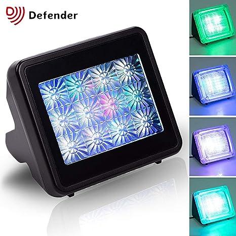 TV Simulator Fake Television Simulator - Anti-burglar Home Security Theft  Deterrent Device with Timer and light sensor