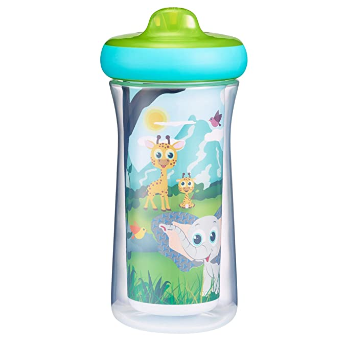 The First Years Insulated Sippy Cups, 9 Ounces (Pack of 2)