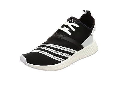 adidas WM NMD R2 PK, Chaussures de Fitness Homme, Multicolore-Vert Olive (Olitra/Ftwbla/Ftwbla), 42 2/3 EU