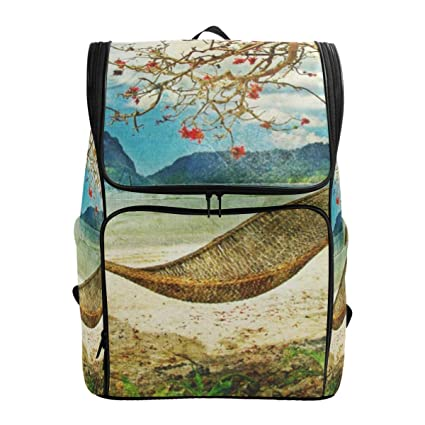 fa99765f8b28 Amazon.com: Laptop Backpack Artwork Painting Duffle Backpack for Men ...