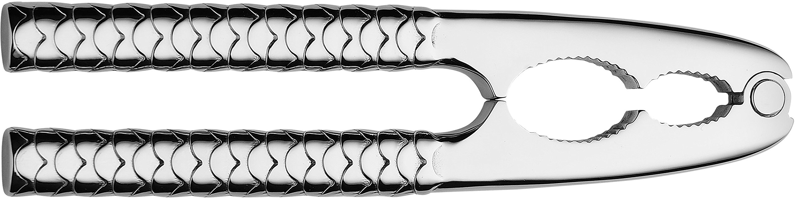 Alessi''Colombina fish'' Shellfish Cracker in 18/10 Stainless Steel Mirror Polished, Silver