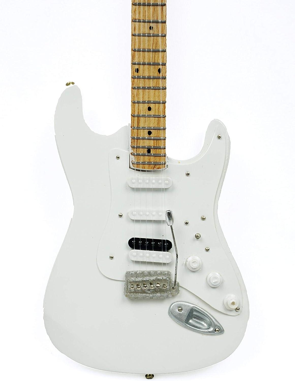 Guitarra en miniatura decorativa de guitarra eléctrica Fender ...