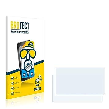 BROTECT Protection Ecran Mat Compatible avec Renault Media Nav Clio [2  Pièces] - Anti-Reflet