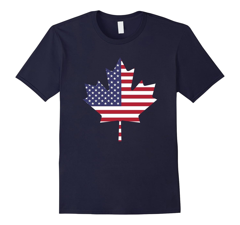 American Canadian Flag TShirts- canada's day shirt-Art