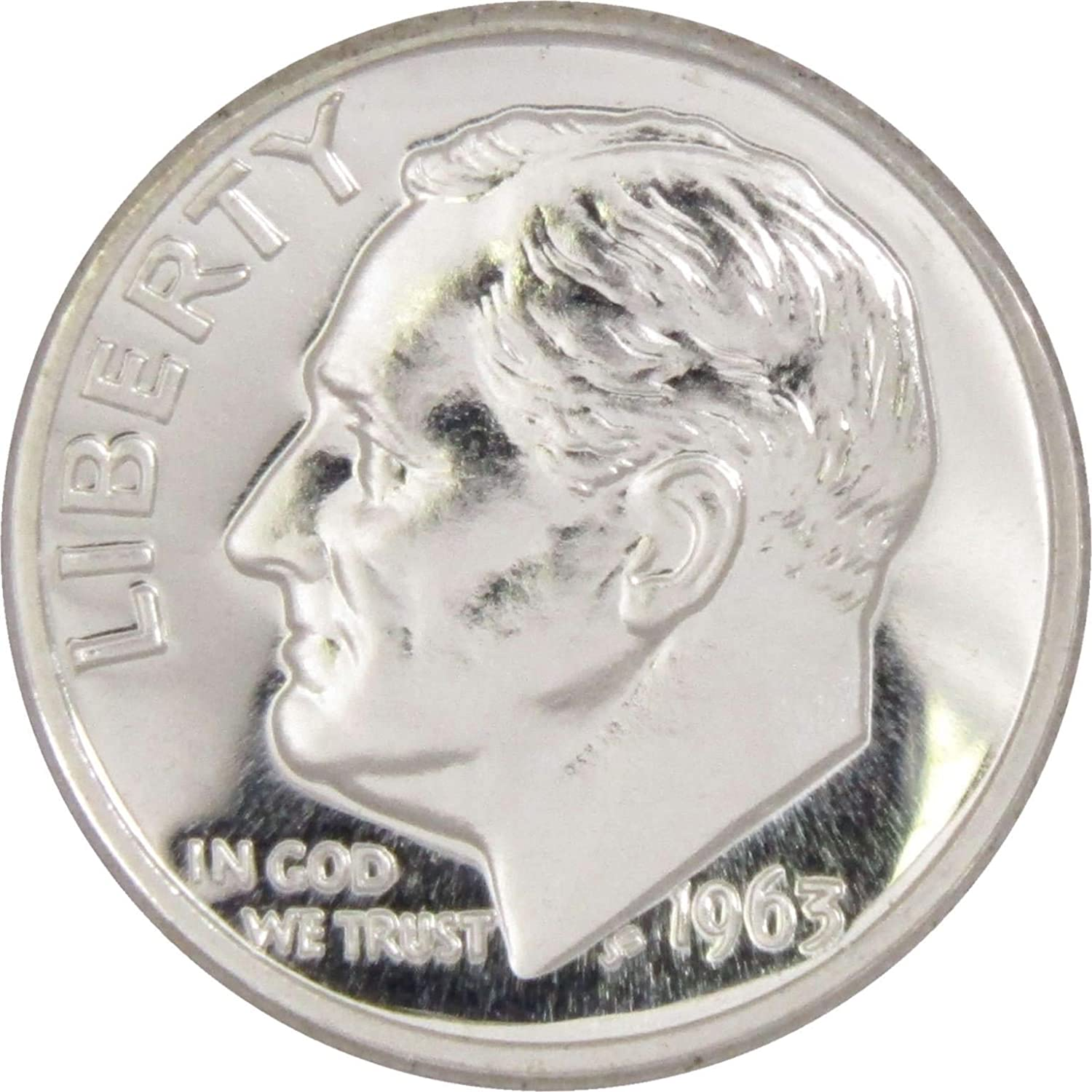 2018 S Clad Roosevelt Dime Deep Cameo Gem Proof IN STOCK
