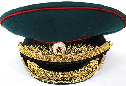 ed6f02042 Amazon.com: Soviet/ USSR Army General Parade Hat / Cap 1980th ...