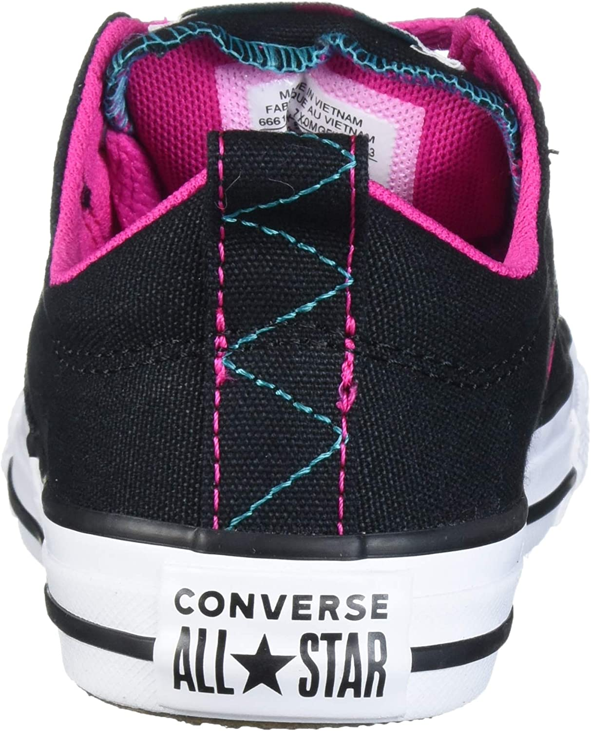YOUTH BOYS//GIRLS BLACK AND WHITE CONVERSE ALL STAR-SEE LISTING FOR SIZES i7a a