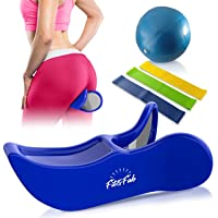 Fit&Fab Kegel Exerciser Hip Trainer for Women with Butt Lifting, Muscle Toning,...