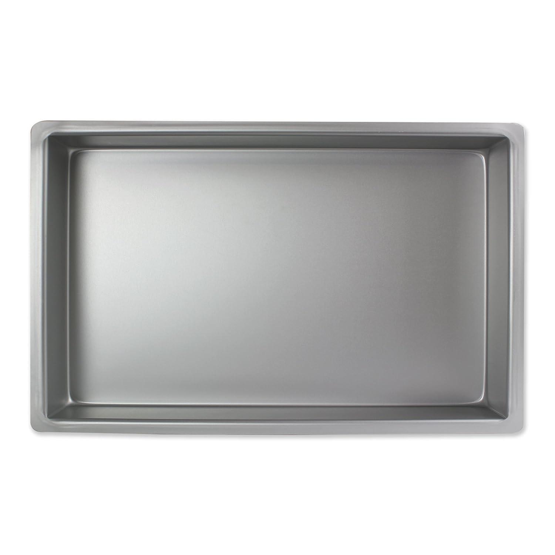 PME 7 x 11 x 3 OBLONG RECTANGLE Anodised Aluminium Cake Baking Pan Tin Bakeware OBL07113