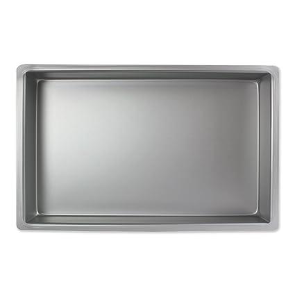 PME Molde para Pastel Rectangular de Aluminio Profundidad de 7 x 11 x 3-pulgadas