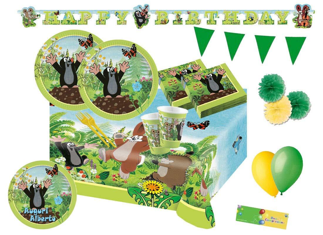 Irpot Kit n 63 Festa Compleanno La Piccola Talpa - Krtek The Little Mole
