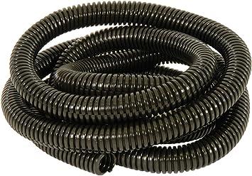 "Wire Loom 1//2/"" X 80/' split convoluted tubing conduit black plastic"