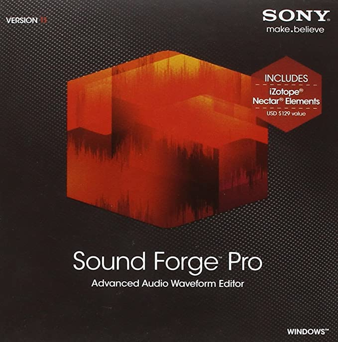 Sony Sound Forge Pro 11 - Upgrade Sound Forge to Sound Forge