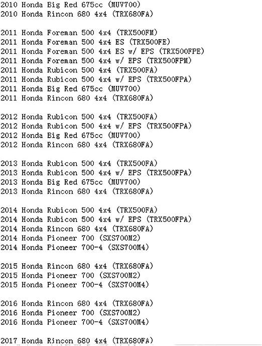 STONEDER Filtro de aire para Honda Rincon 680 500 Foreman 500 ...