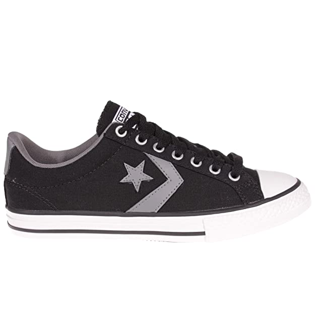 CONVERSE CONS Star Player EV OX Kids Trainer Black / Grey