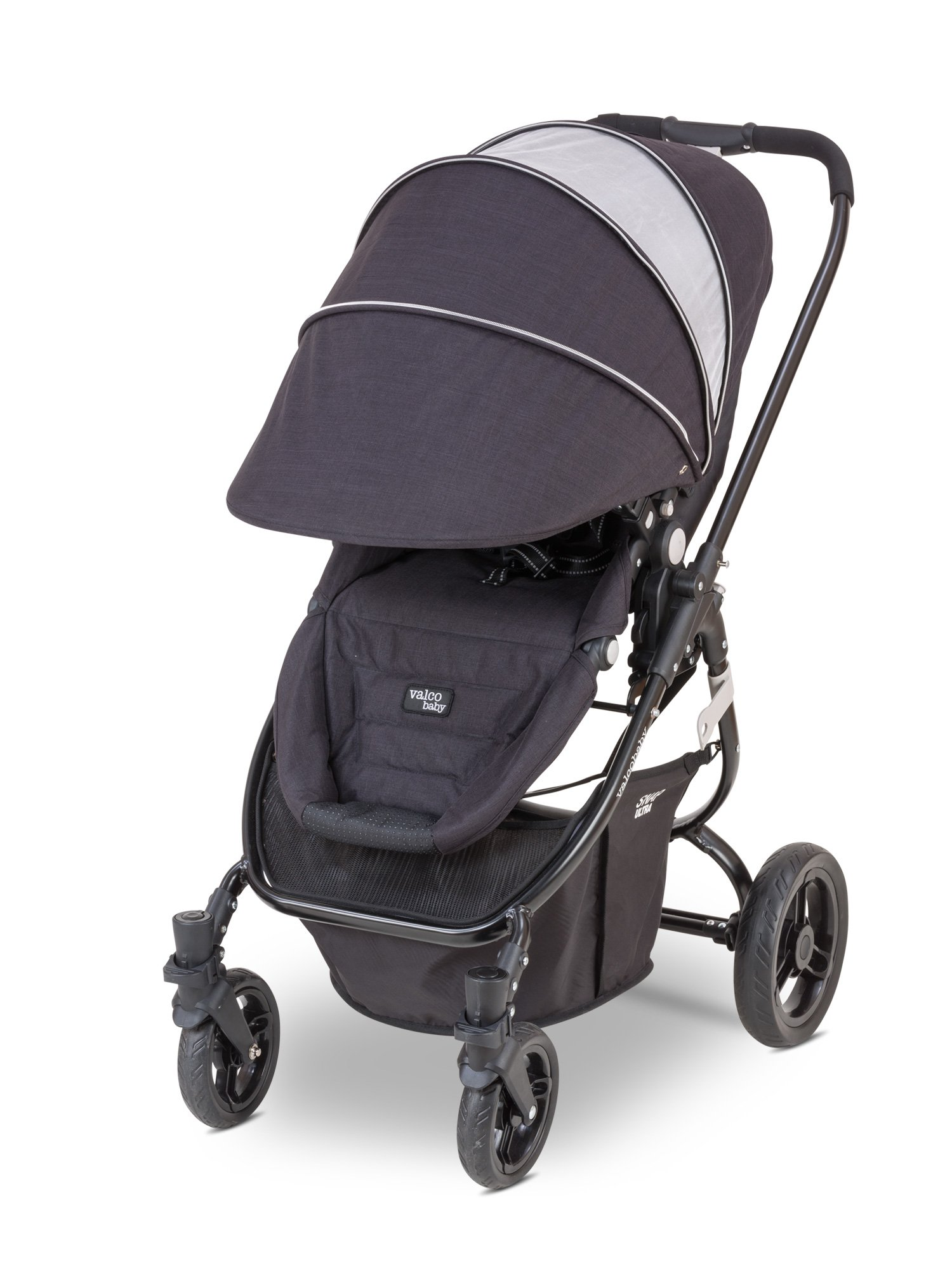 Valco Baby Snap Ultra Lightweight Reversible Stroller (Black Night) by Valco Baby (Image #3)