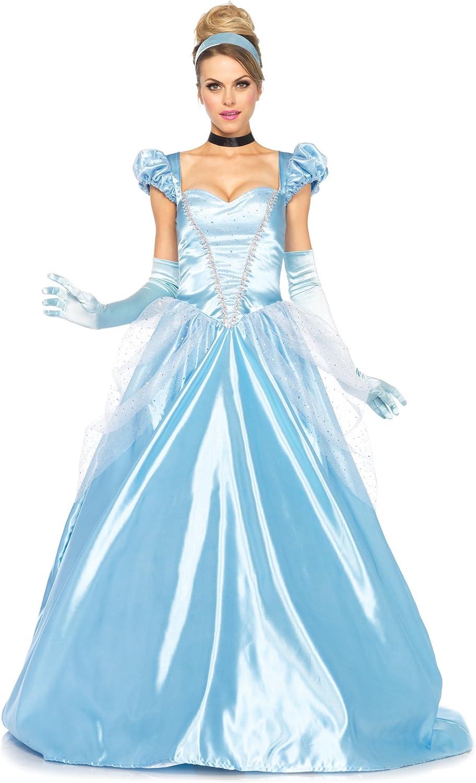 Amazon Com 3 Pc Leg Avenue Ladies Classic Cinderella Gown Set 3xl 4xl Blue Clothing