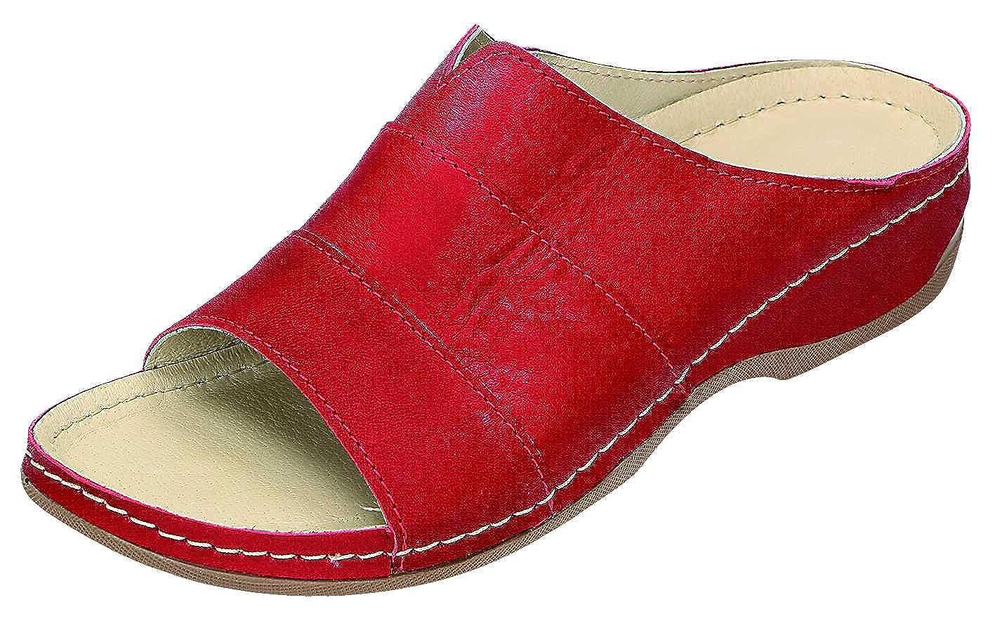 MICCOS - - - Zuecos para mujer Rojo rojo 875f92